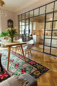 Table Cuisine étroite : table ronde ou table rectangulaire cocon d co vie nomade ~ Teatrodelosmanantiales.com Idées de Décoration