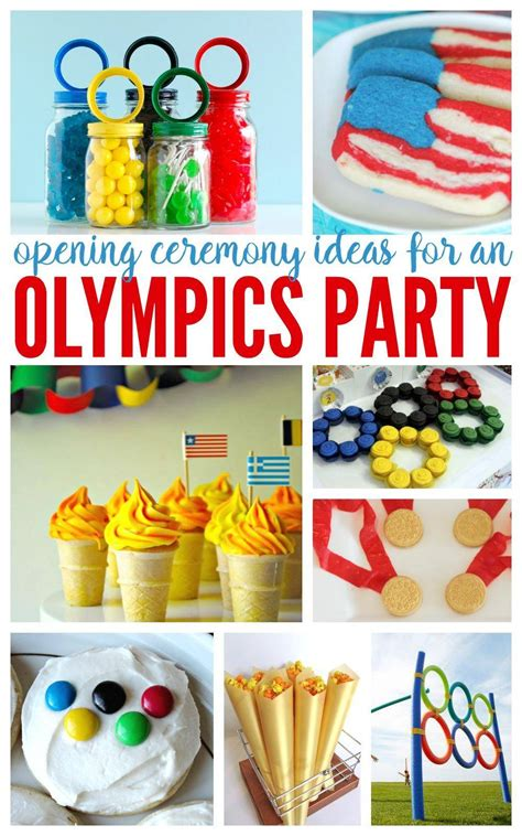 opening ceremony olympics party ideas summer