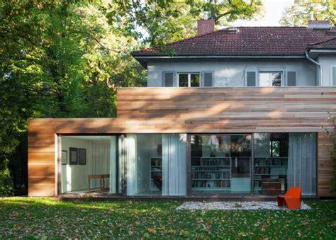 Einfamilienhaus Eine Aufgabe Zwei Loesungen by Einfamilienhaus Berlin Grunewald Bauemotion De Fassade