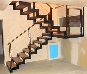 Escalier Metal Prix : escalier int rieur metal concept escalier ferronnerie ~ Edinachiropracticcenter.com Idées de Décoration
