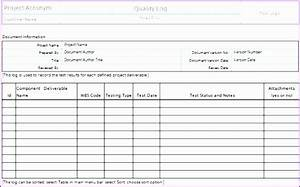 quality assurance excel template images template design With quality assurance spreadsheet template
