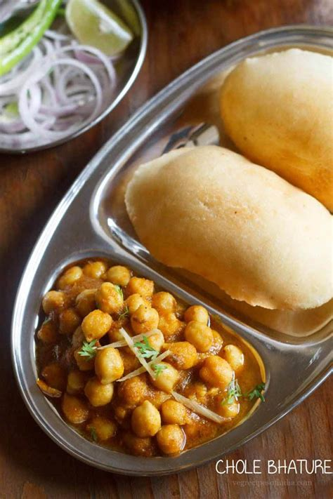 The delicious meal is full of nutrients and taste. chole bhature recipe, how to make chole bhature, chole ...
