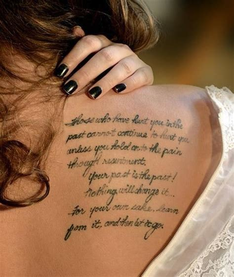 cute girl quote tattoo ideas collection  inspiring