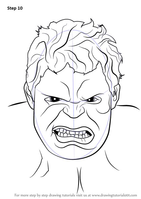 learn   draw  hulk face  hulk step  step