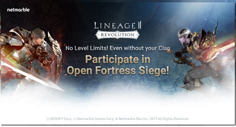 fortress siege lineage2 revolution releases open fortress siege update