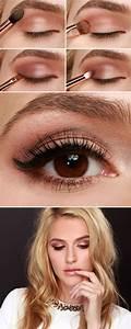 Maquillage Pour Yeux Marron : 60 id es pour le maquillage yeux marrons ~ Carolinahurricanesstore.com Idées de Décoration