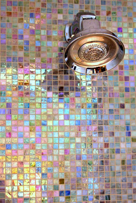 colorful mosaics  shimmer interiors  color