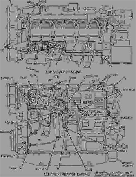 3406e Caterpillar Engine Wiring For by 1318281 Wiring Engine Engine Marine Caterpillar