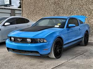 Repairable Cars 2010 Ford Mustang GT for Sale | Blue 2010 Ford Mustang GT Car for Sale in Grand ...