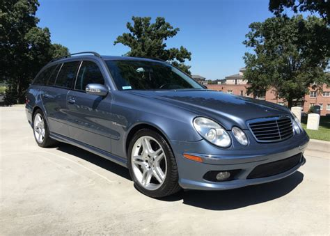 Wagon Amg by 2005 Mercedes E55 Amg Wagon For Sale On Bat Auctions