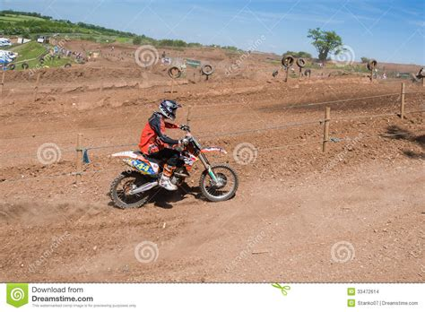 motocross races uk motocross rider editorial stock image image 33472614