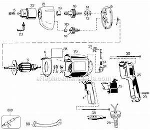 Black And Decker 7190-04 Parts List And Diagram