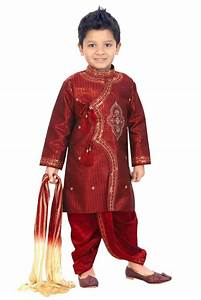 So cute boy wearing red color Indian Jodhpuri. Typically these are Rajasthani style and they ...