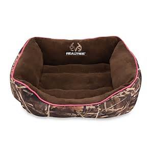 buy realtree 174 max 4 camo giant pet bed in pink from bed