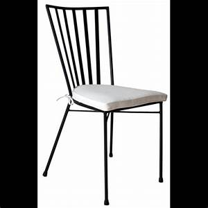 Chaise Fer Forgé : chaise fer forg mack ~ Teatrodelosmanantiales.com Idées de Décoration
