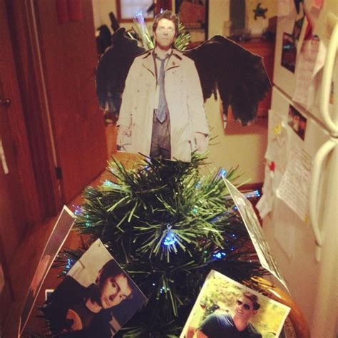 castiel christmas tree topper pin by jacque tietjen on dreaming of a