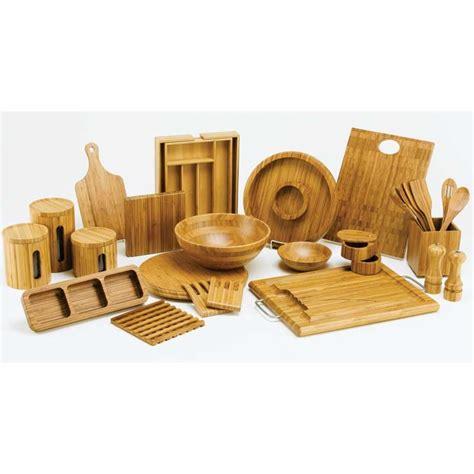 Heritage Mint, Ltd  Bamboo Kitchen Salt And Pepper Mill