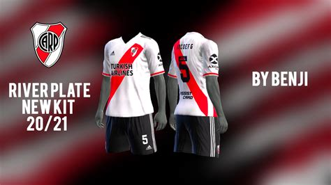 River Plate New kit Home 2020/21 by BeNji - PES Patch