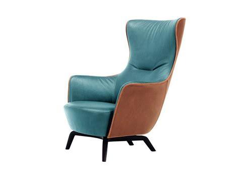 Poltrona Bergere 3d : Bergere Armchair Mamy Blue By Poltrona Frau Design Roberto