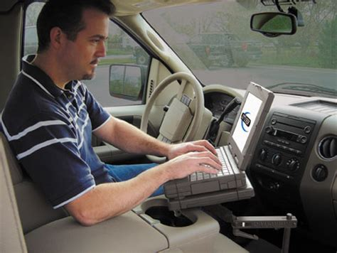mobile desk for truck mobile office laptop mounts jotto desk the mobile