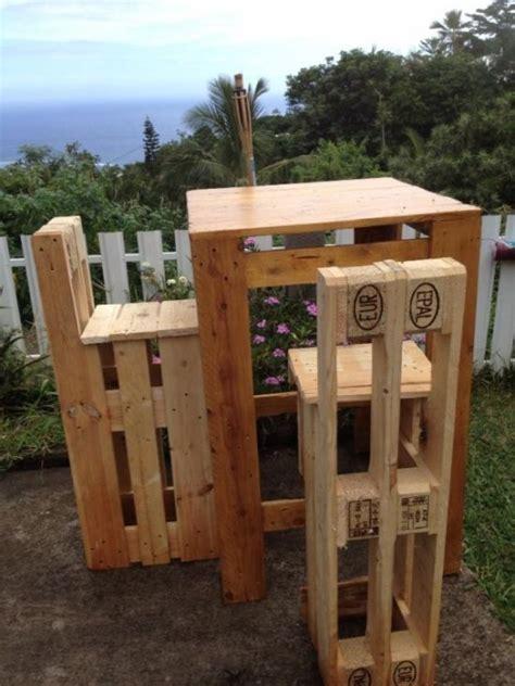 Barhocker Für Garten  Möbelpaletten Pinterest
