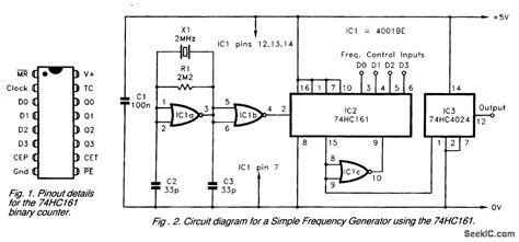 Simple Frequency Generator Signal Processing Circuit