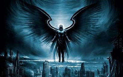 Fallen Angel Fantasy Wallpapers Desktop Archangel Warrior