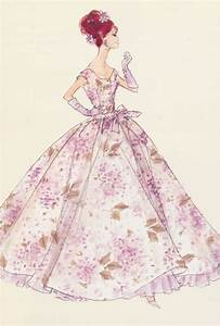 vintage barbie sketch | croquis | Pinterest | Print ...
