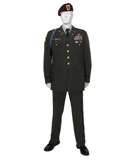 army green service uniform class  officer