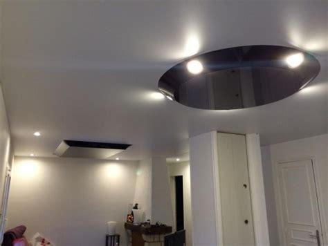 plafond tendu noir brillant l eco isolation par i nove 224 boulogne billancourt