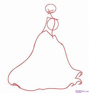 How to Draw Princess Tiana, Step by Step, Disney ...