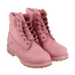 womens boots like timberlands timberland 6 inch premium boot in pink lyst