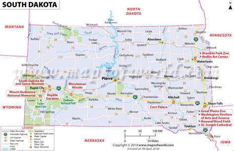 south dakota located location map  dakota
