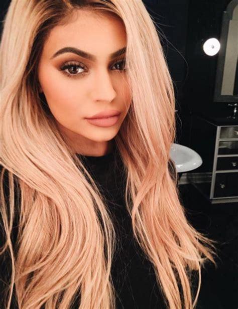 Kylie Jenner goes back to blonde for Justin Bieber concert ...
