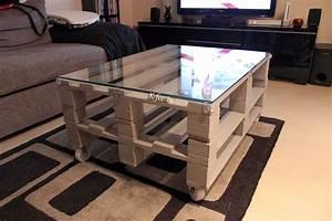 Table Basse Palettes : diy une table basse en palette mini bonheur ~ Melissatoandfro.com Idées de Décoration