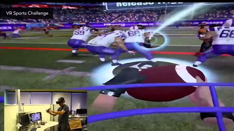 Sanzaru Games Vr Sports Challenge  Football Youtube