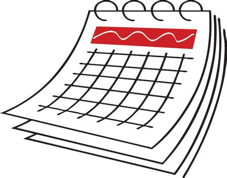 schedule clipart free pictures of calendars clipart best