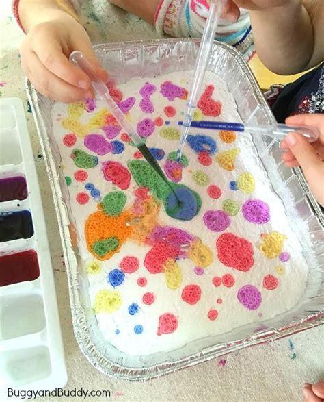 exploring colors  baking soda  vinegar cool