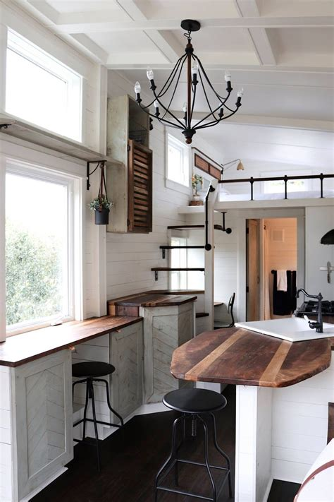tiny house interiors tiny house town tiny getaway house by handcrafted movement
