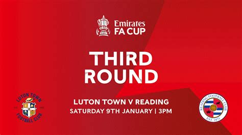 Reading FA Cup third round tie moved to midday kick-off on ...