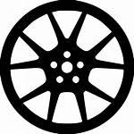 Wheel Icon Svg Tire Rim Onlinewebfonts Clipground