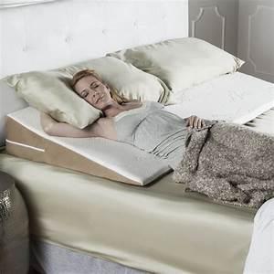 acid reflux superslant queen width bed wedge pillow with With bed wedge pillow for gerd