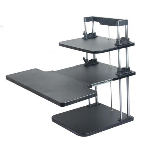 adjustable desktop standing desk computer standing desks lifter sit stand desk two level
