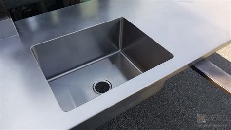 Stainless Steel Sink Countertop Integrated - stainless steel counter sink tyres2c