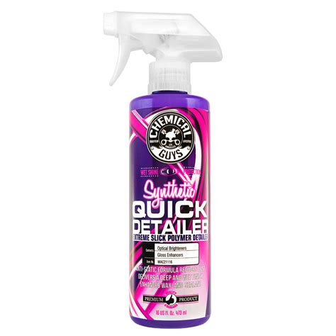 Chemical Guys WAC21116 Synthetic Quick Detailer - Detail ...