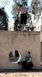 gifs  people performing awesome tricks  gifs