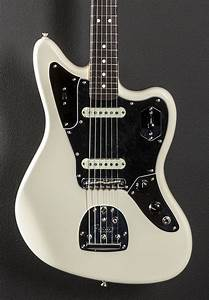 American Pro Jaguar - Olympic White w/Rosewood - Dave's ...