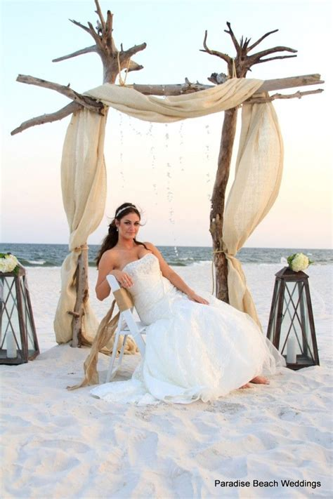 25 Best Ideas About Beach Wedding Arches On Pinterest