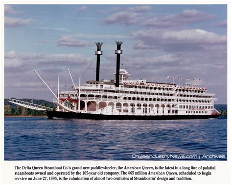 River Boat Companies Hiring by Great American Steamboat Tweaking A Former Business Model