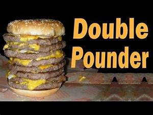 McDonald's: How to Make a Double Pounder - YouTube